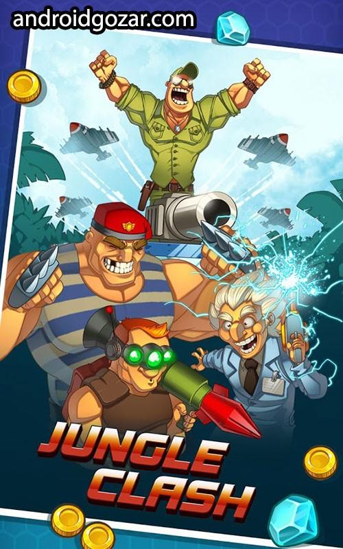 Jungle Clash 1.0.18 دانلود بازی استراتژی نبرد جنگل اندروید