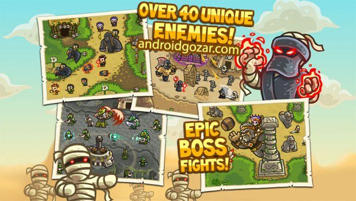 دانلود Kingdom Rush Frontiers 3.2.17 – بازی دفاع برج اعتیاد آور اندروید + مود