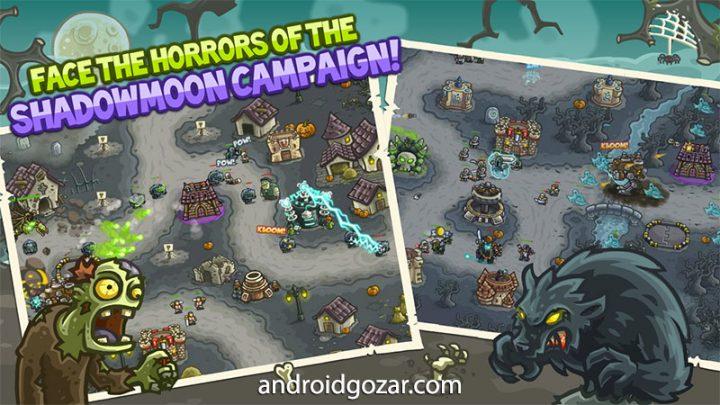 Kingdom Rush Frontiers 3.0.33 دانلود بازی دفاع برج اعتیاد آور اندروید + مود + دیتا