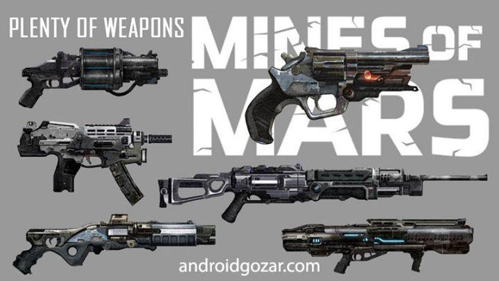 Mines of Mars 3.3800 دانلود بازی معادن مریخ اندروید