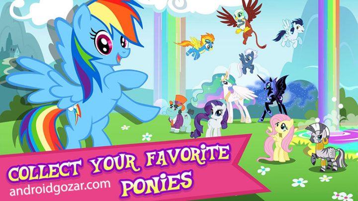 My Little Pony 4.5.0g دانلود بازی اسب کوچک من اندروید + مود