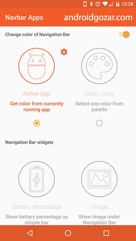 Navbar Apps Pro 3.0.1 دانلود برنامه سفارشی کردن نوار ناوبری اندروید