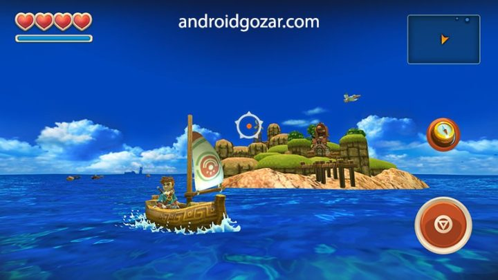 Oceanhorn 1.1.4 دانلود بازی ماجراجویی دریاهای ناشناخته اندروید + مود
