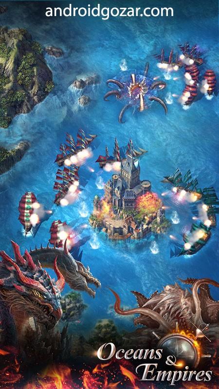 دانلود Uncharted Wars: Oceans & Empires 2.0.6 – بازی اندروید