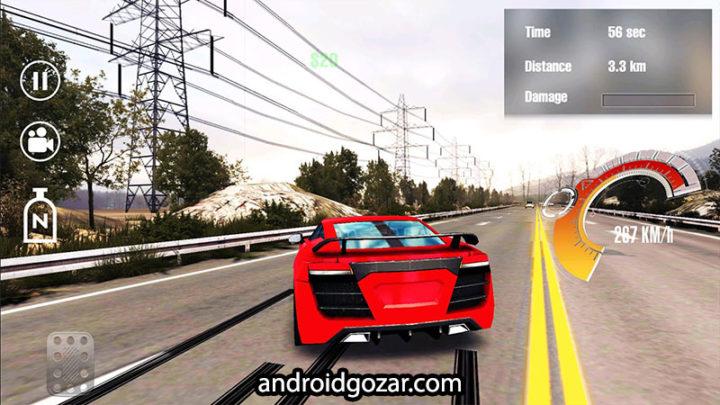 Overtake : Car Traffic Racing 1.25 دانلود بازی مسابقه در ترافیک اندروید+مود+دیتا
