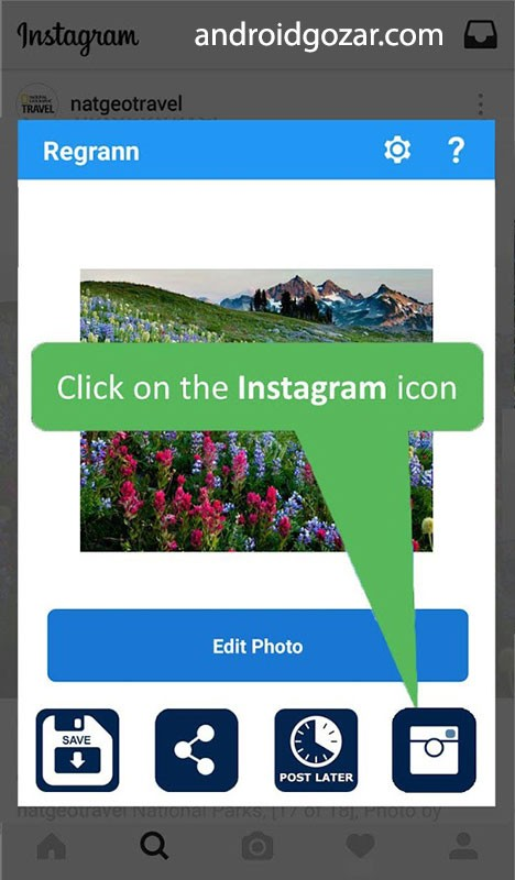 دانلود Repost for Instagram – Regrann Pro 10.49 برنامه ریپست اینستاگرام