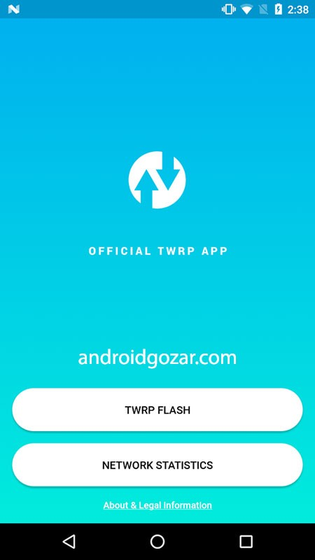 Official TWRP App Premium 1.21 نرم افزار دانلود و نصب TWRP جدید اندروید