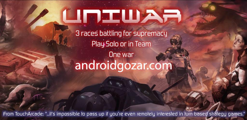 UniWar 1.17.23 دانلود بازی استراتژی چند نفره یونی وار اندروید
