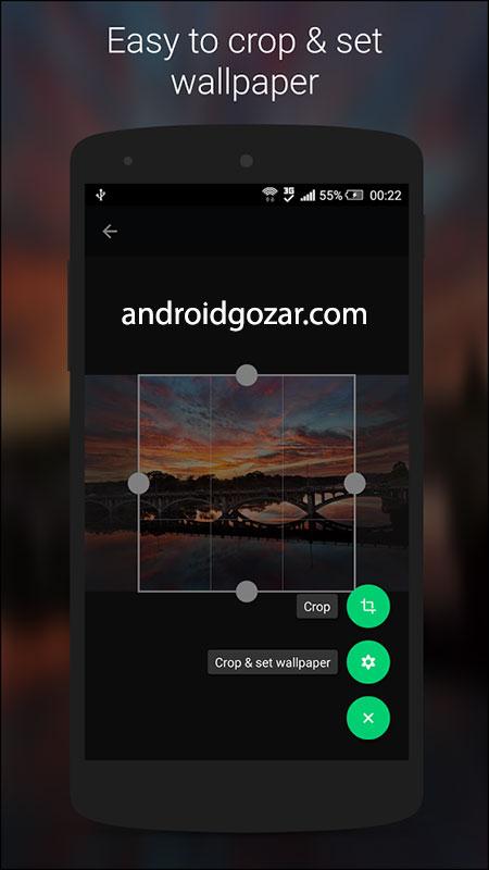 دانلود Wallz Pro 1.5.2 برنامه والپیپر و تصویر پس زمینه اندروید