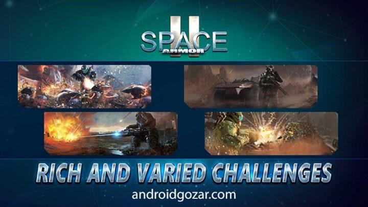 Space Armor 2 1.3.1 دانلود بازی تیراندازی زره فضایی اندروید + مود