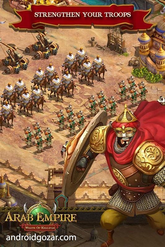 دانلود Arab Empire 1.6.5 – بازی استراتژیک امپراطوری عرب اندروید
