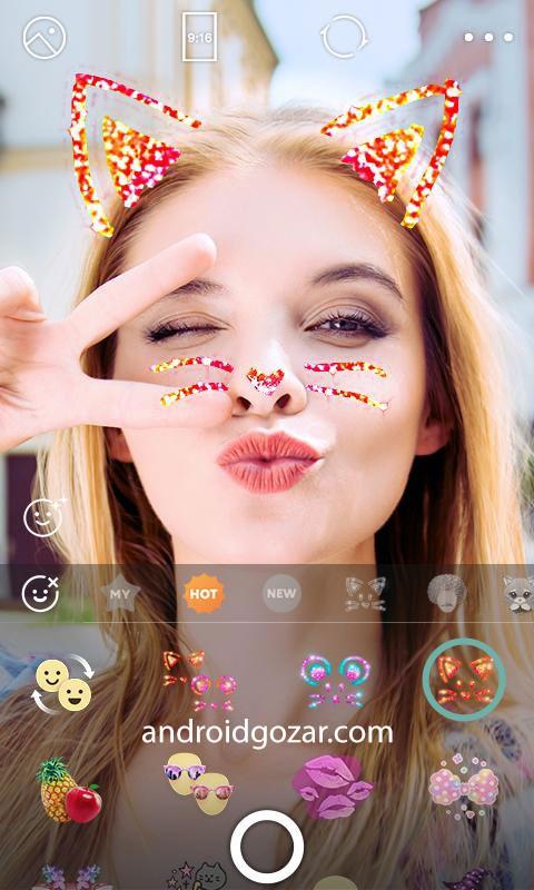 دانلود B612 Full 8.14.9 – برنامه دوربین زیبایی و فیلتر عکس اندروید