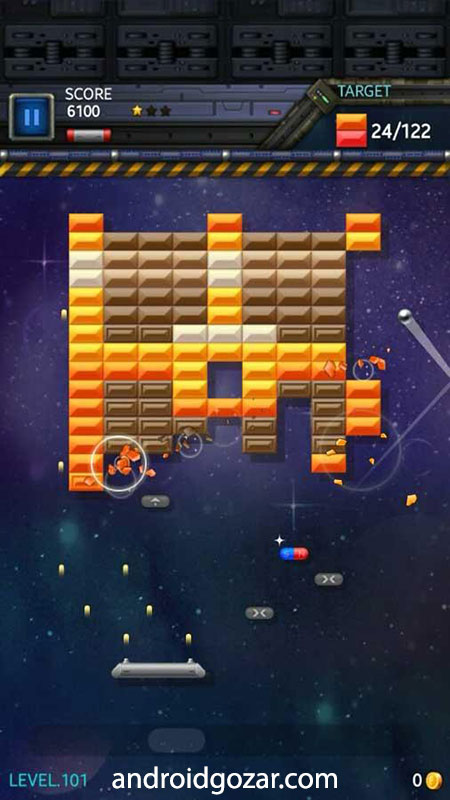 Brick Breaker Star: Space King 1.5 دانلود بازی شکستن آجر اندروید