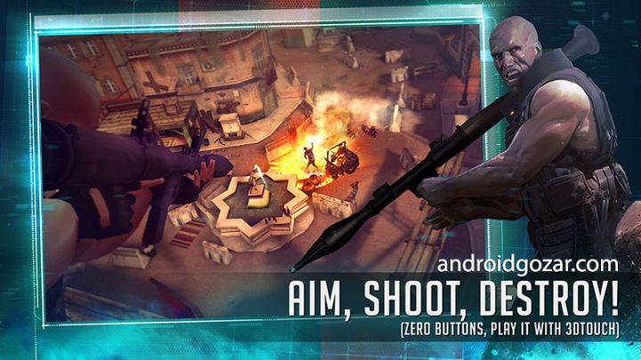 دانلود Cover Fire 1.21.1 بازی اکشن مسیر شلیک اندروید + مود