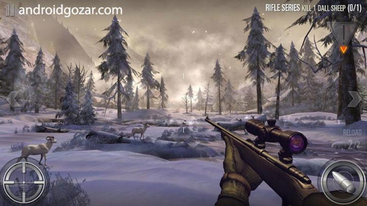 Deer Hunter 2018 5.1.8 دانلود بازی شکارچی حیوانات اندروید + مود