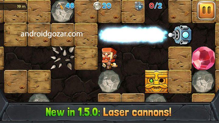 Dig Out 2.5.3 دانلود بازی حفاری در معدن اندروید + مود