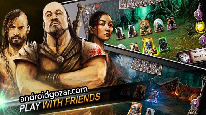 Drakenlords 3.4.7 دانلود بازی کارتی اربابان دراکن اندروید