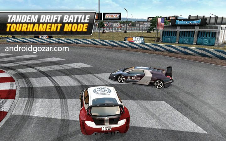 Drift Mania Championship 2 1.34 دانلود بازی مسابقه قهرمانی دریفت اندروید + مود + دیتا