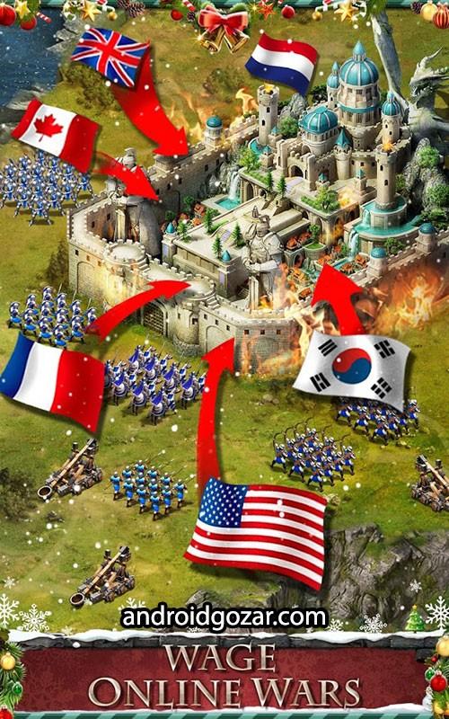 Empire War: Age of hero 8.692 دانلود بازی استراتژی جنگ امپراطوری اندروید