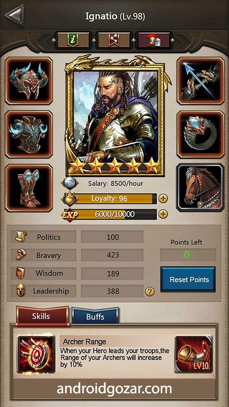 دانلود Empire War: Age of hero 9.096 – بازی جنگ امپراطوری اندروید