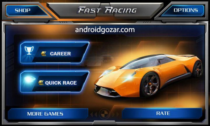 Fast Racing 3D 1.7 دانلود بازی مسابقه اتومبیل رانی سریع اندروید + مود