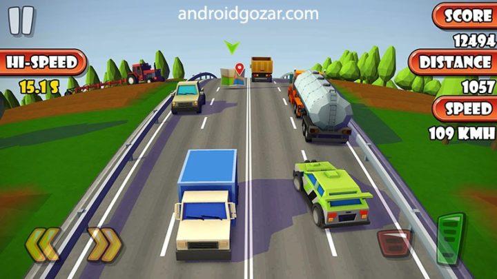 Highway Traffic Racer Planet 1.3.2 دانلود بازی ماشین سواری اندروید + مود