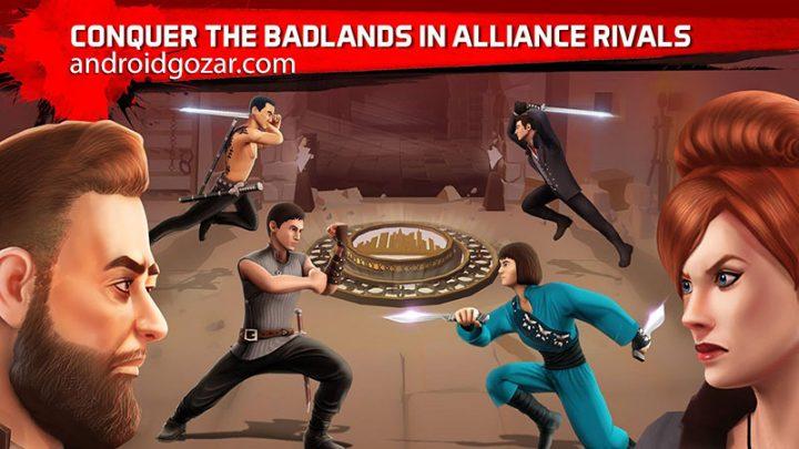 دانلود Into the Badlands Blade Battle 1.2.16 – بازی سرزمین های بد اندروید + مود