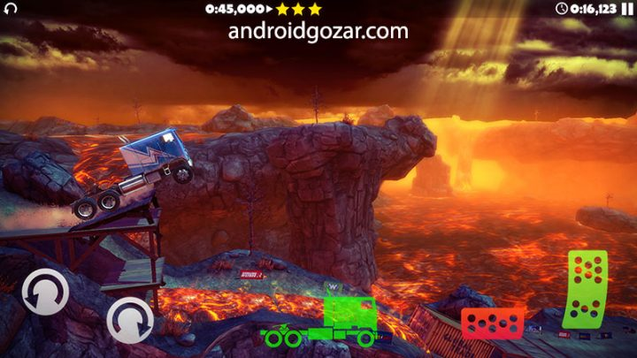 Offroad Legends 2 1.2.9 دانلود بازی ماشین سواری آفرود اندروید + مود + دیتا