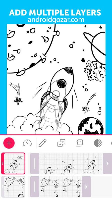 دانلود PicsArt Animator 3.0.3 برنامه ساخت کارتون و انیمیشن اندروید