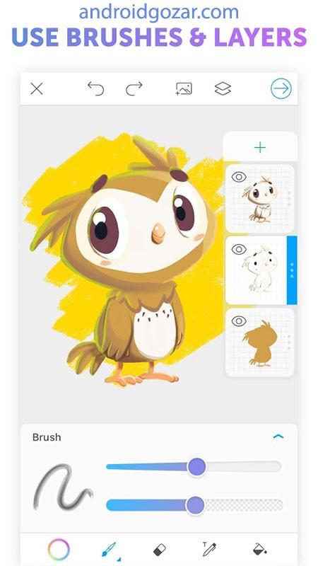 دانلود PicsArt Color Pro 2.9 – برنامه نقاشی و رنگ آمیزی اندروید