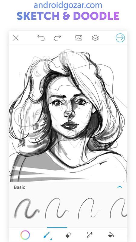 PicsArt Color Paint 2.4.0 دانلود نرم افزار نقاشی و رنگ آمیزی اندروید