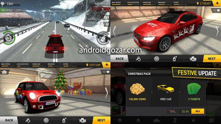 دانلود Racing Fever 1.7.0 بازی مسابقه ماشین سواری اندروید + مود