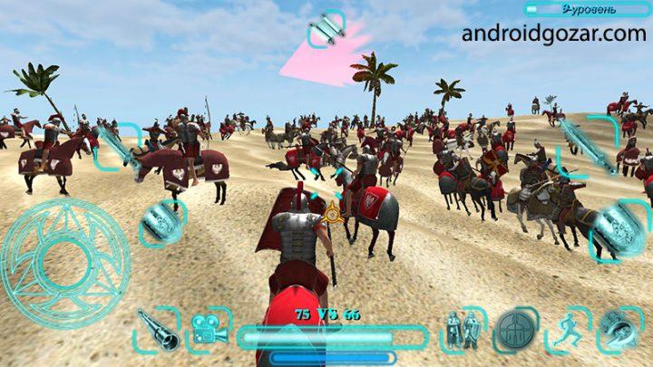 دانلود Steel And Flesh 2.2 بازی اکشن قرون وسطی اندروید + مود