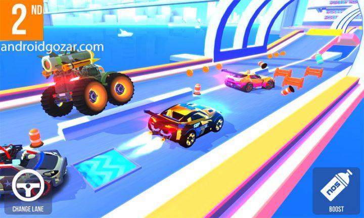 SUP Multiplayer Racing 1.8.2 دانلود بازی ماشین سواری چند نفره اندروید + مود