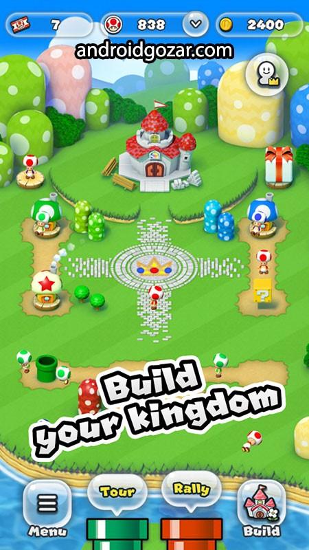 دانلود Super Mario Run 3.0.19 بازی سوپر ماریو ران اندروید + مود