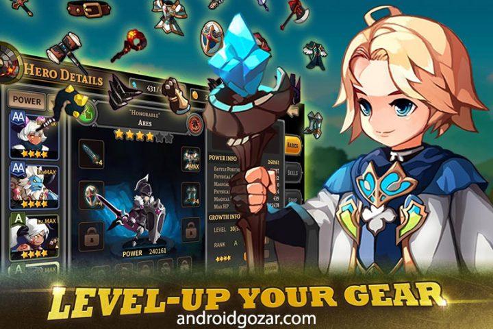 Tactics Squad: Dungeon Heroes 2.4.3 دانلود بازی گروه تاکتیک ها اندروید