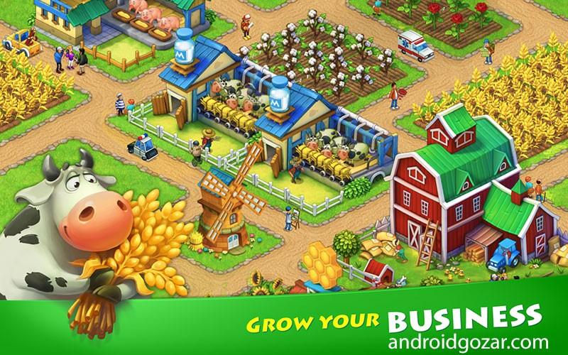 Township 5.0.0 دانلود بازی شهر سازی و کشاورزی اندروید + مود ...تصاویر