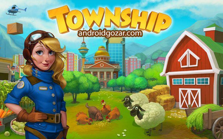 دانلود Township 7.8.5 بازی شهر سازی و کشاورزی اندروید + مود