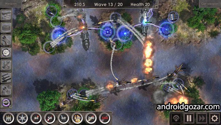 Defense Zone 3 HD / Ultra 1.3.0 دانلود بازی منطقه دفاعی 3 اندروید + مود + دیتا