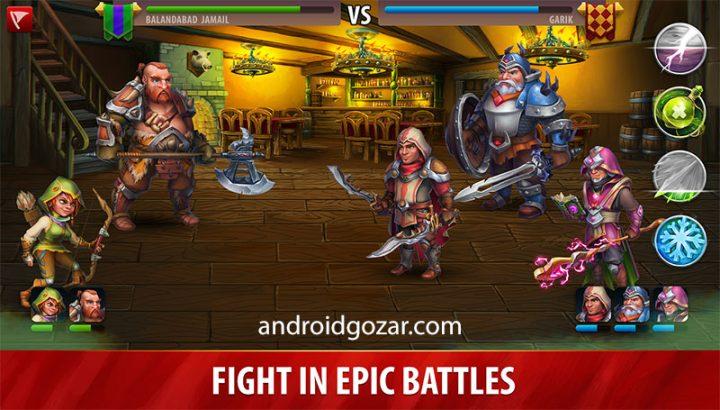 Hero Rush: Clan Wars 1.43 دانلود بازی استراتژی حمله قهرمان اندروید