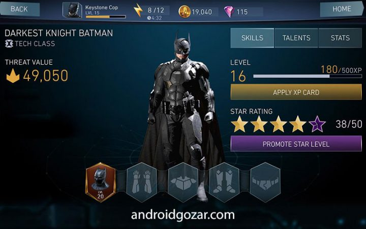 دانلود Injustice 2 4.0.1 بازی اکشن بی عدالتی 2 اندروید + مود