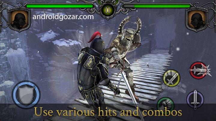 Knights Fight 1.0.21 دانلود بازی مبارزه شوالیه های قرون وسطی اندروید + مود + دیتا