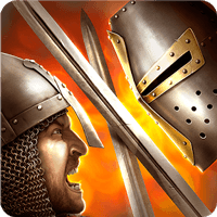 Knights Fight 1.0.20 دانلود بازی مبارزه شوالیه های قرون وسطی اندروید + مود + دیتا