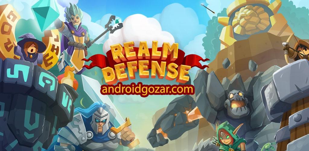 Realm Defense 2.3.0 دانلود بازی استراتژی دفاع از قلمرو اندروید + مود
