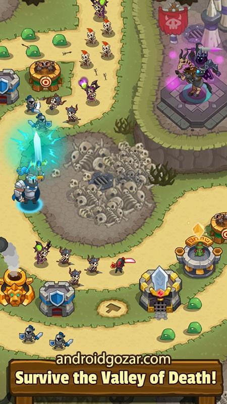 Realm Defense 2.0.1 دانلود بازی استراتژی دفاع از قلمرو اندروید + مود