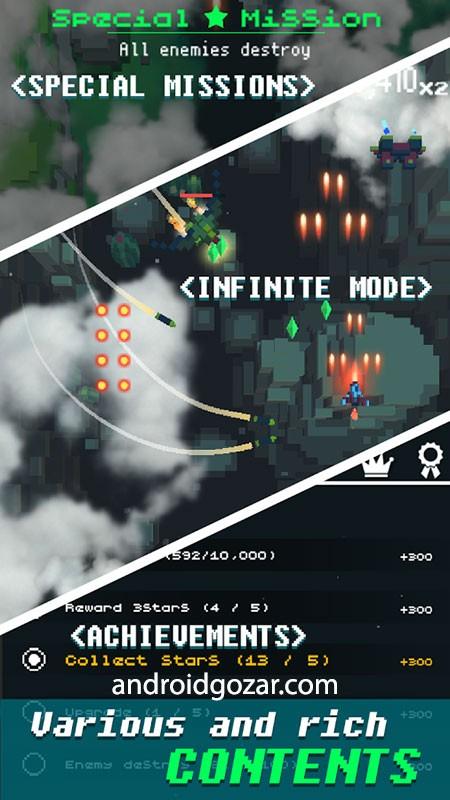 Retro Shooting 2.0.16 دانلود بازی تیراندازی هواپیما اندروید + مود