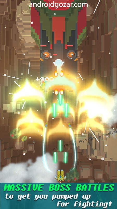 دانلود Sky Wings: Pixel Fighter 3D 2.5.4 بازی تیراندازی هواپیما اندروید + مود