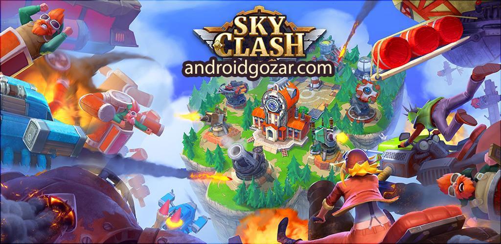 دانلود Sky Clash: Lords of Clans 3D 1.52.5246 – بازی نبرد آسمانی اندروید
