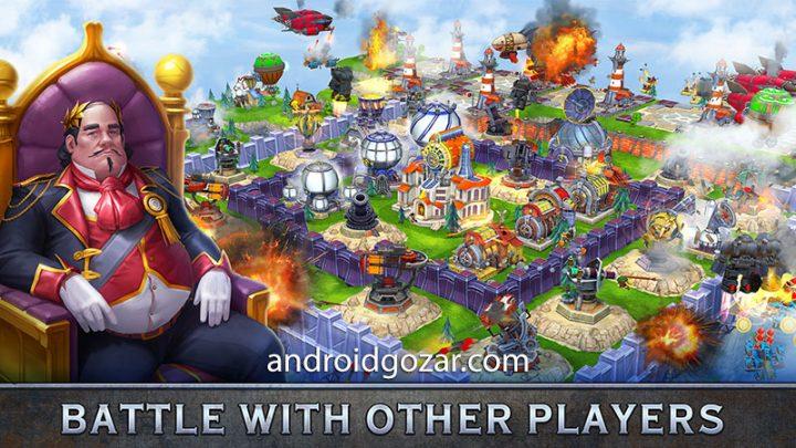 Sky Clash: Lords of Clans 3D 1.48.4372 دانلود بازی نبرد آسمانی اندروید