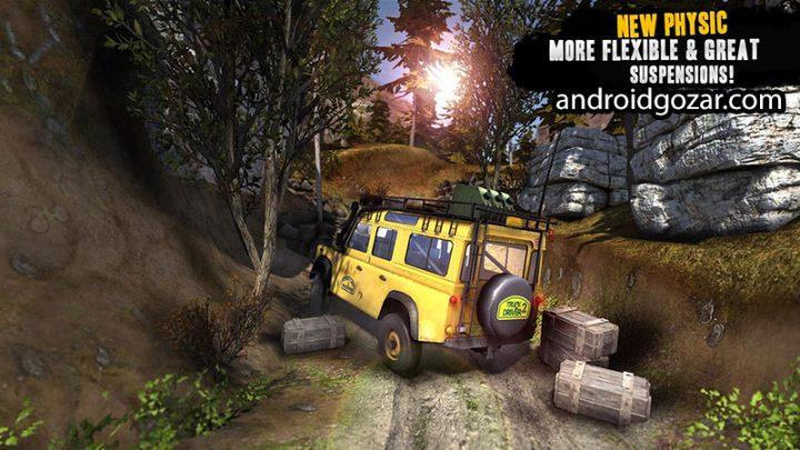 Truck Evolution : Offroad 2 1.0.8 دانلود بازی مسابقه کامیون آفرود اندروید + مود